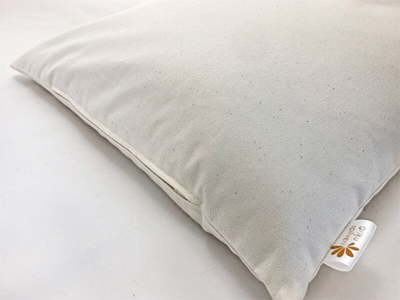 Griķu sēnalu spilvens 40x50cm, biezs kokvilnas apvalks
